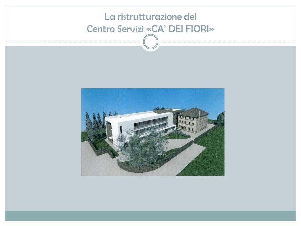 La ristrutturazione del Centro Servizi «CA' DEI FIORI»