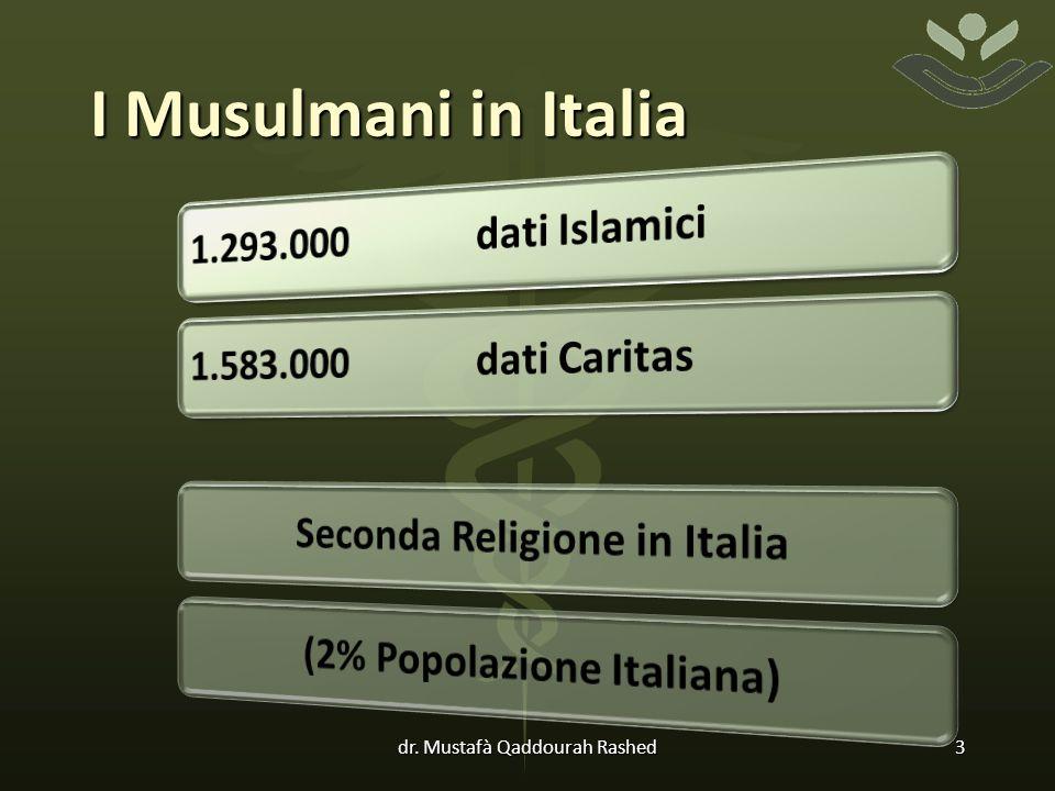 I Musulmani in Italia dr. Mustafà Qaddourah Rashed3