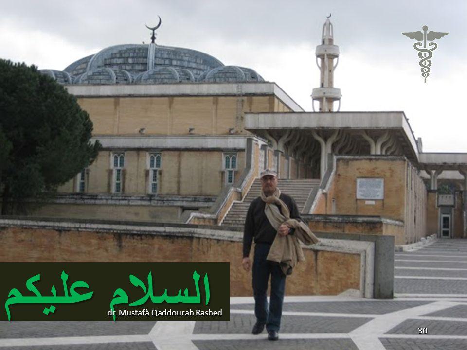 السلام عليكم dr. Mustafà Qaddourah Rashed 30