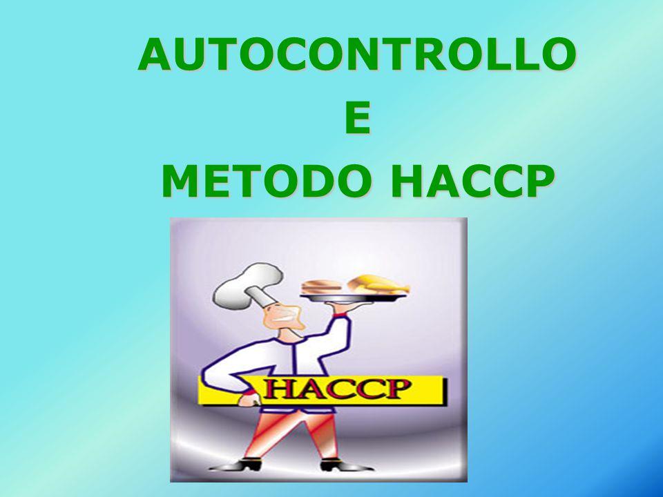 AUTOCONTROLLOE METODO HACCP