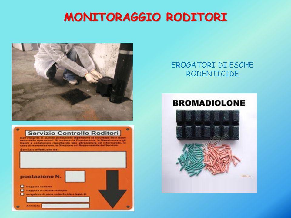 MONITORAGGIO RODITORI EROGATORI DI ESCHE RODENTICIDE