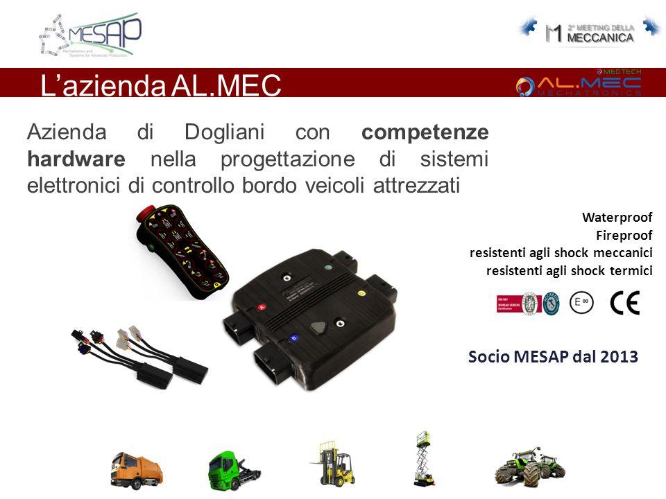 L'azienda AL.MEC Azienda di Dogliani con competenze hardware nella progettazione di sistemi elettronici di controllo bordo veicoli attrezzati Waterpro