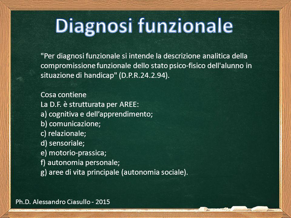 Ph.D. Alessandro Ciasullo - 2015