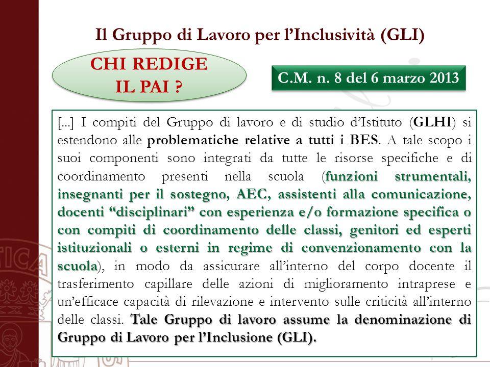 Università degli Studi di Salerno CHI REDIGE IL PAI .