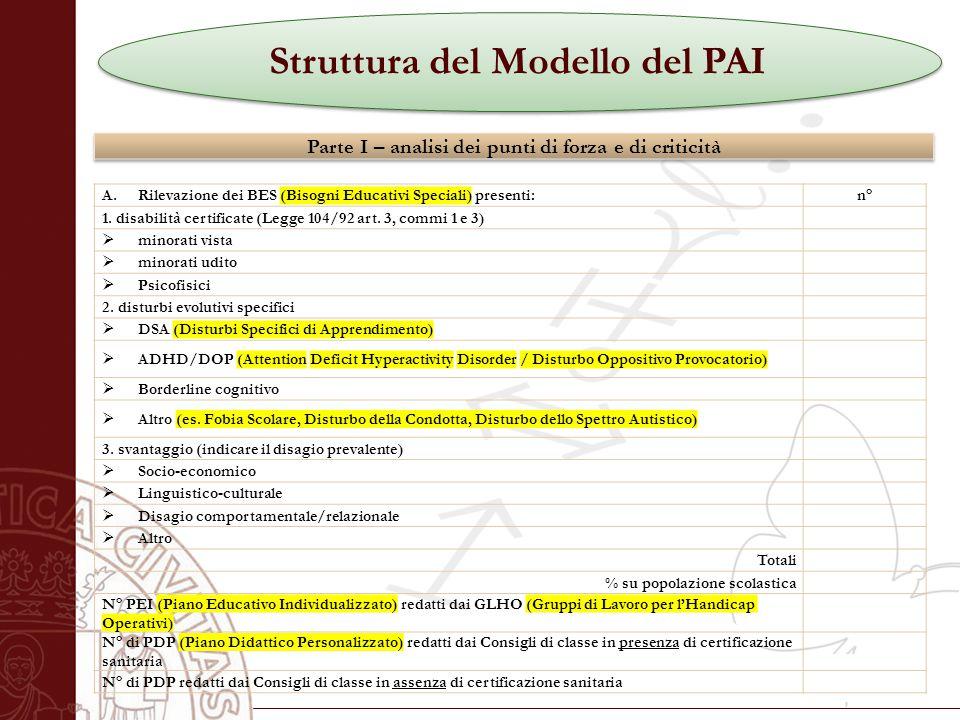 Università degli Studi di Salerno A.Rilevazione dei BES (Bisogni Educativi Speciali) presenti:n° 1.