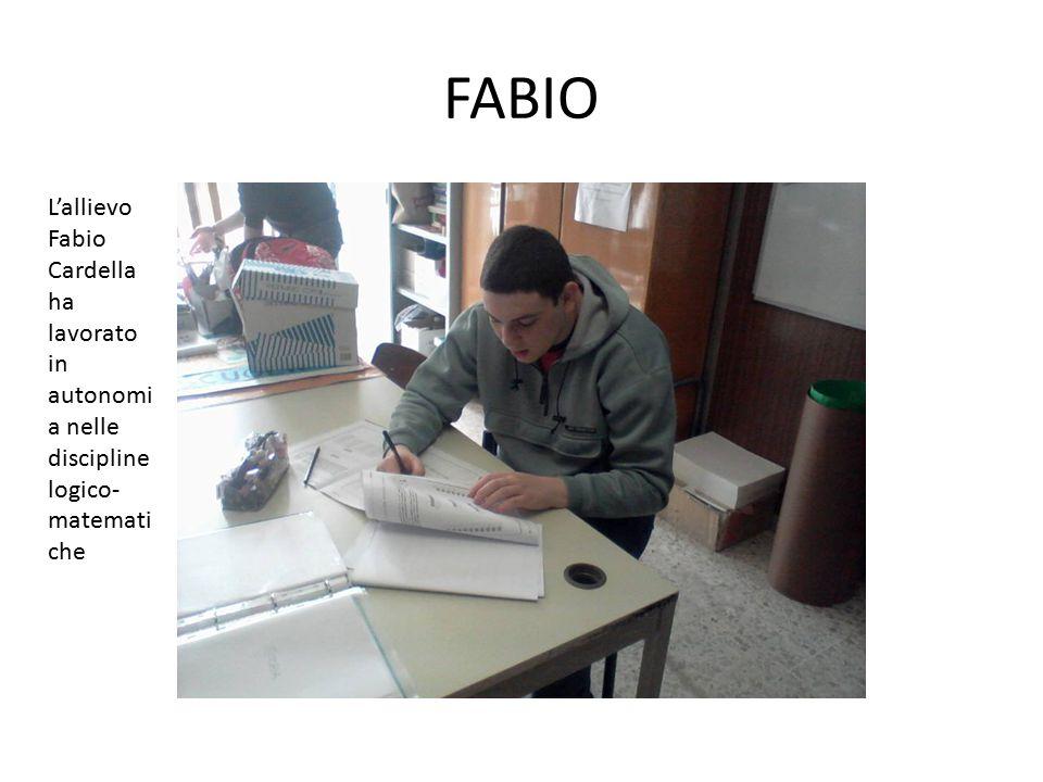 DIEGO E FEDERICA Gli allievi Federica Gustelli e Diego Valzania, in aula di sostegno durante una verifica delle competenze linguistiche