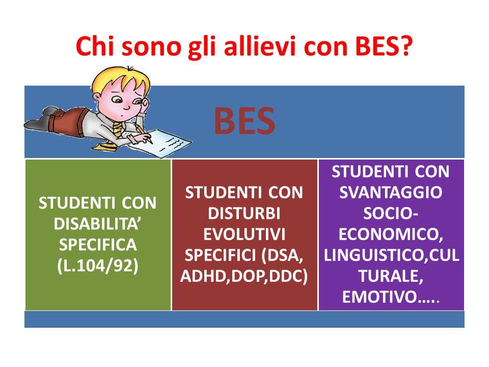 Chi sono gli allievi con BES.