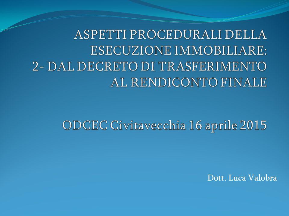 Dott. Luca Valobra