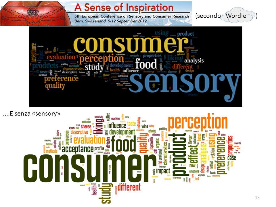 ....E senza «sensory» 13 (secondo Wordle )