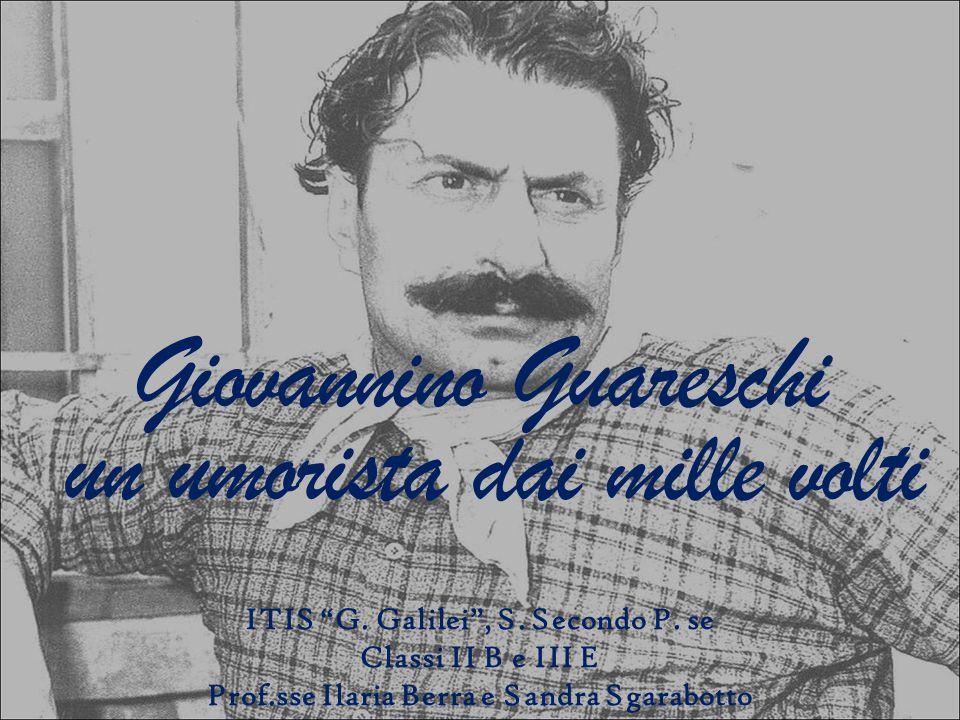 Giovannino Guareschi un umorista dai mille volti ITIS G.