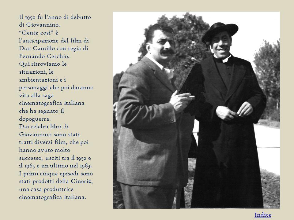 Il 1950 fu l'anno di debutto di Giovannino.