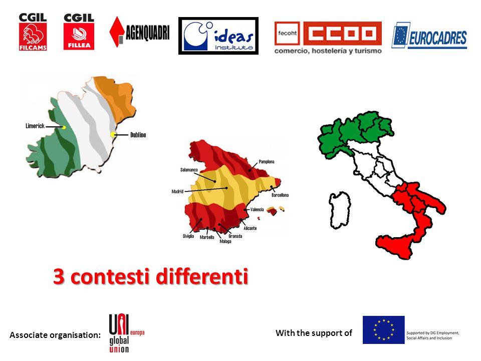 Associate organisation: With the support of Differenti Culture di Relazioni Industriali