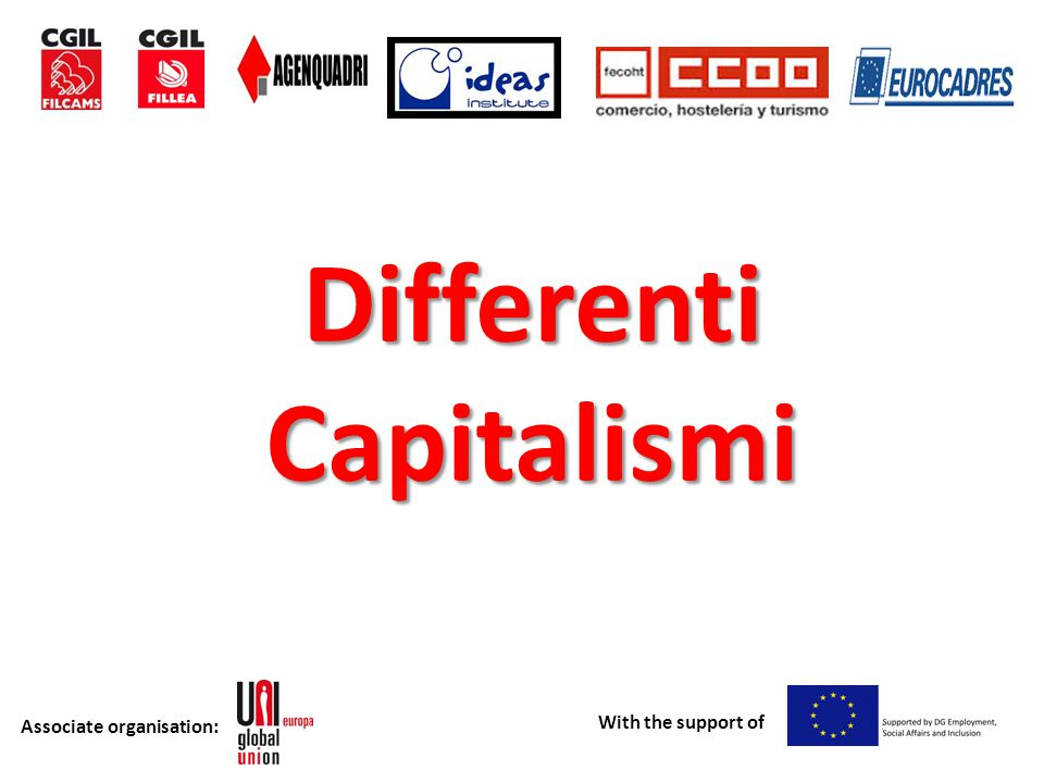 Associate organisation: With the support of Federazionisindacalieuropee