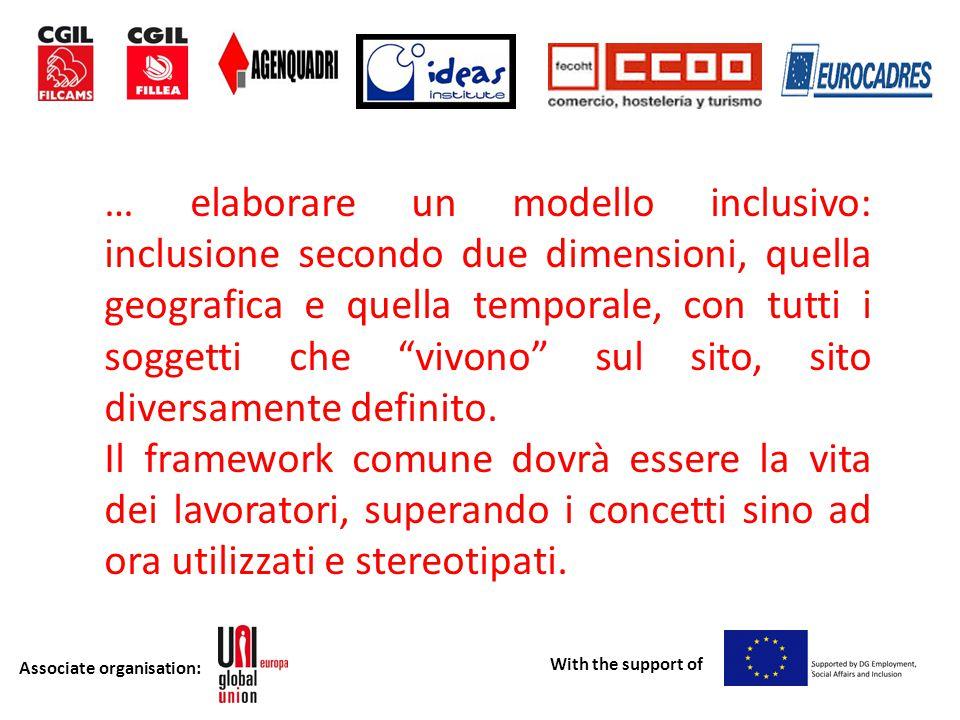 Associate organisation: With the support of Grazie per l'attenzione.