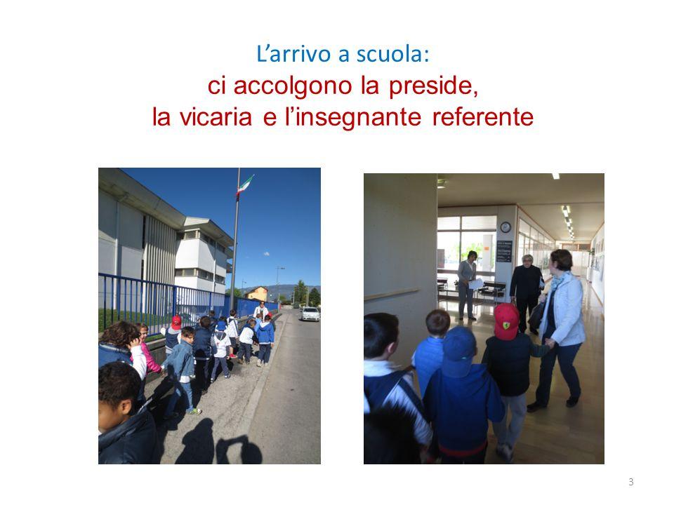 L'arrivo a scuola: ci accolgono la preside, la vicaria e l'insegnante referente 3