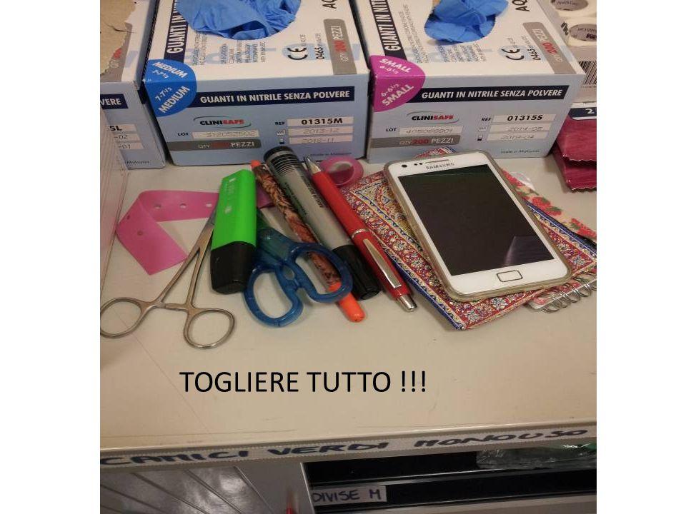 TOGLIERE TUTTO !!!