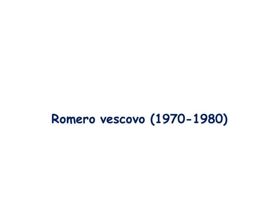 Romero vescovo (1970-1980)