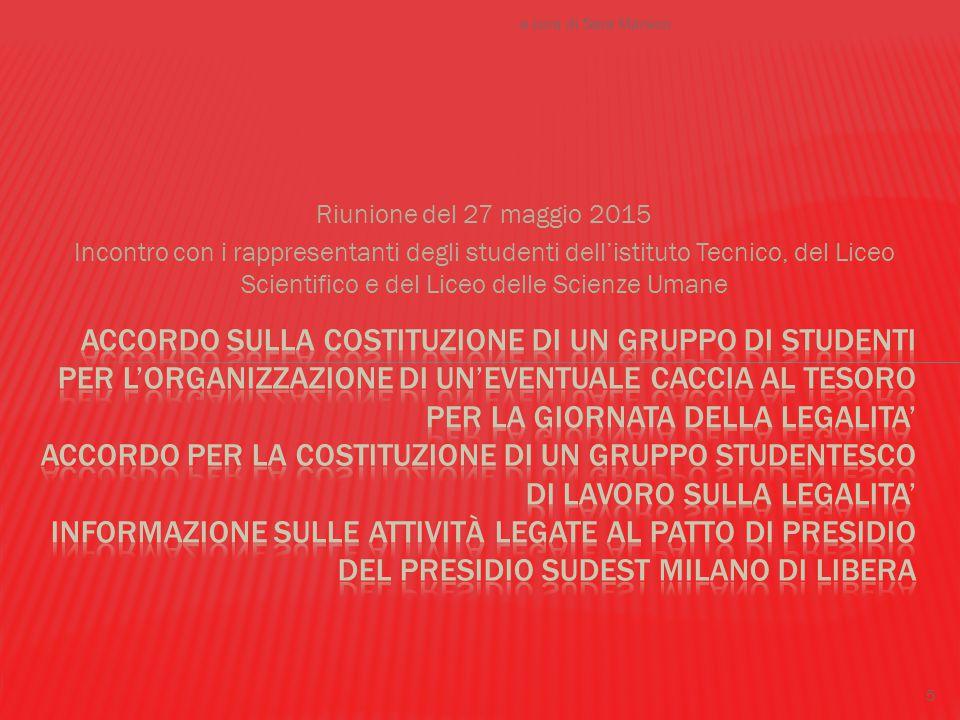 Progetto Libera il Bene  Referente: prof.Sara Marsico Il male c'è e si vede...