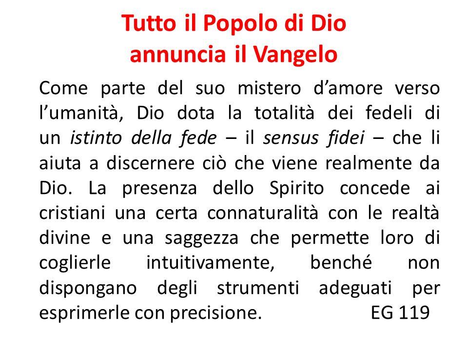 IL SUCCESSORE DI PIETRO Il Concilio Vaticano II ha voluto ribadirlo dichiarando che «il comando di Cristo di predicare il Vangelo ad ogni creatura (cfr.