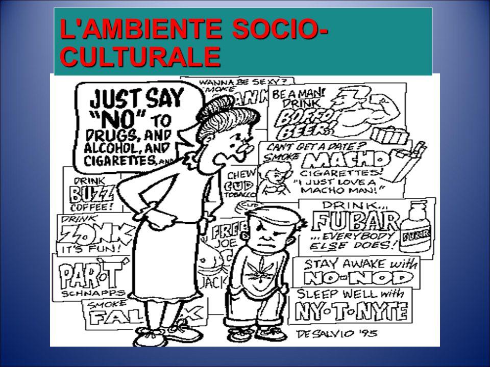 L AMBIENTE SOCIO- CULTURALE
