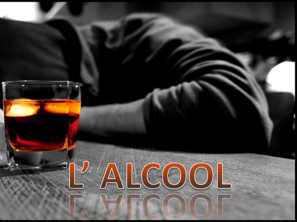 L alcool è dissetante.