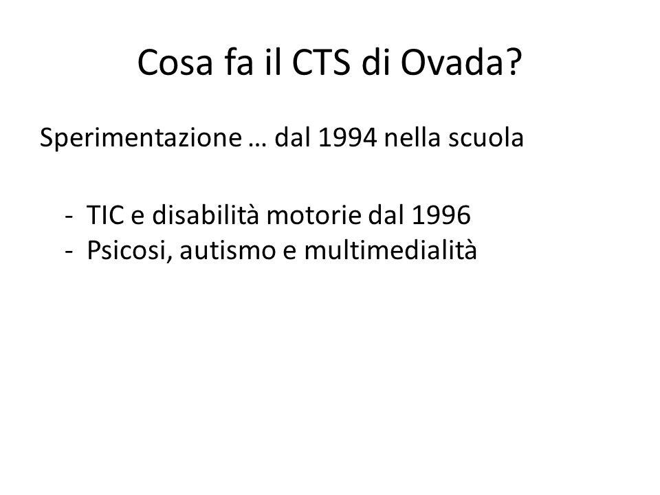 Cosa fa il CTS di Ovada.