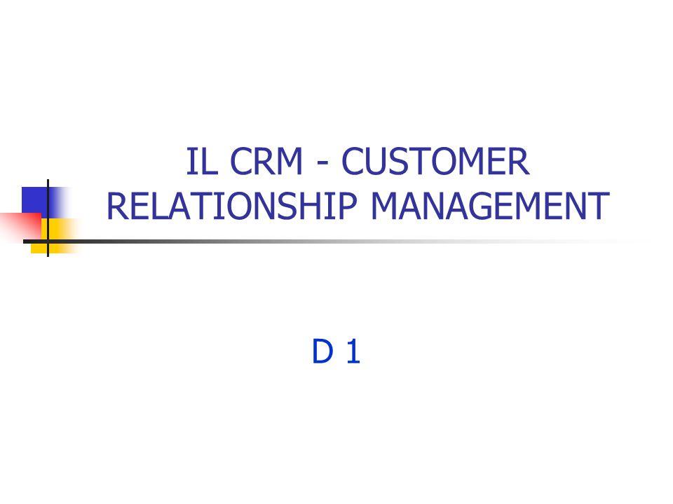 2 Definizioni del CRM CRM è la strategia centrale di business che integra processi e funzioni interne e networks esterni, per creare e fornire valore con profitto a Clienti definiti.