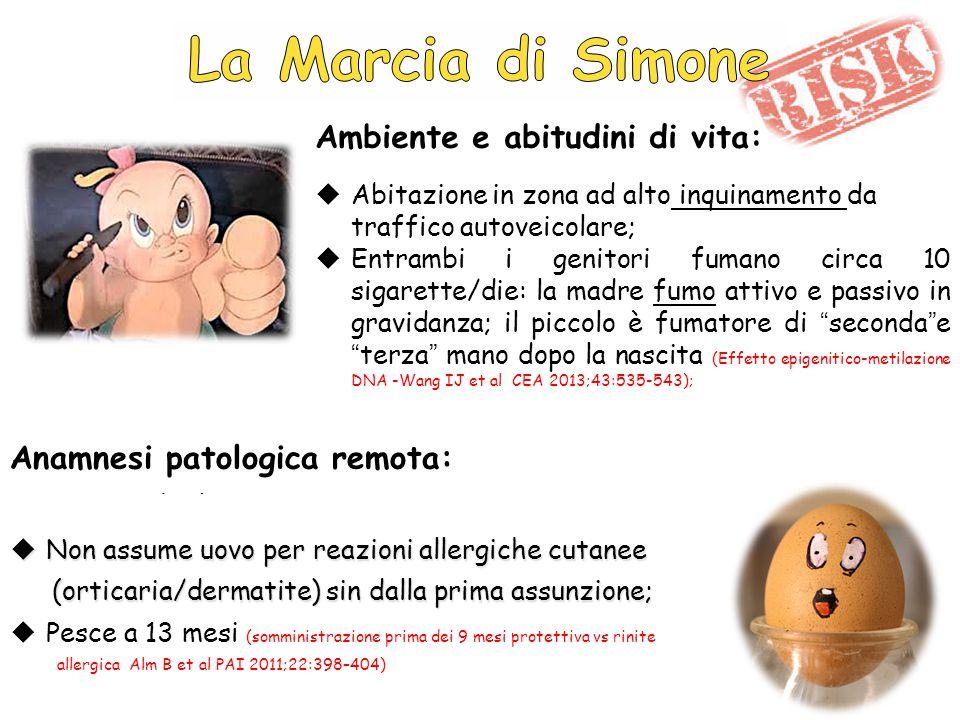 2009 2013 Bronchiolite Dermatite Atopica Allergia alimentare Asma Rinite 2002 Età del bambino