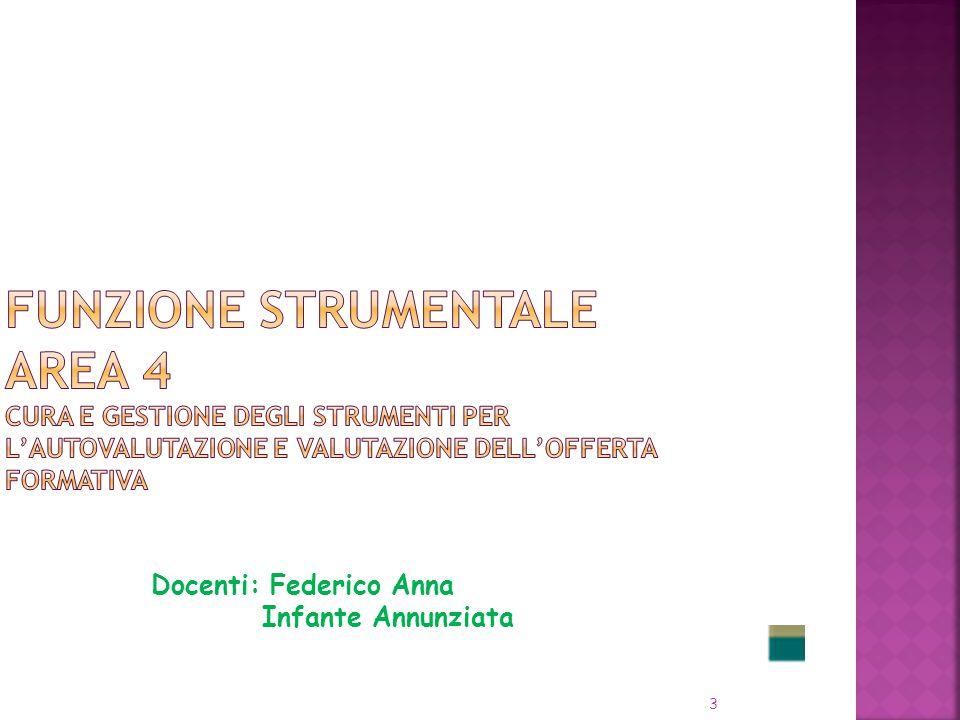 3 Docenti: Federico Anna Infante Annunziata