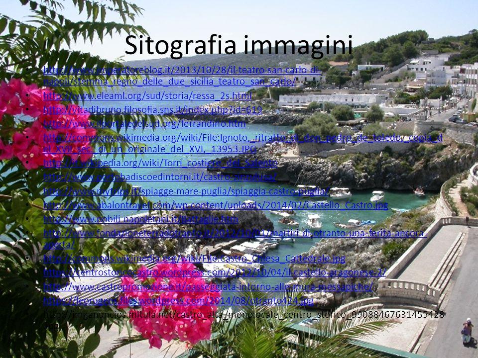 Sitografia immagini http://www.imperatoreblog.it/2013/10/28/il-teatro-san-carlo-di- napoli/stemma_regno_delle_due_sicilia_teatro_san_carlo/ http://www