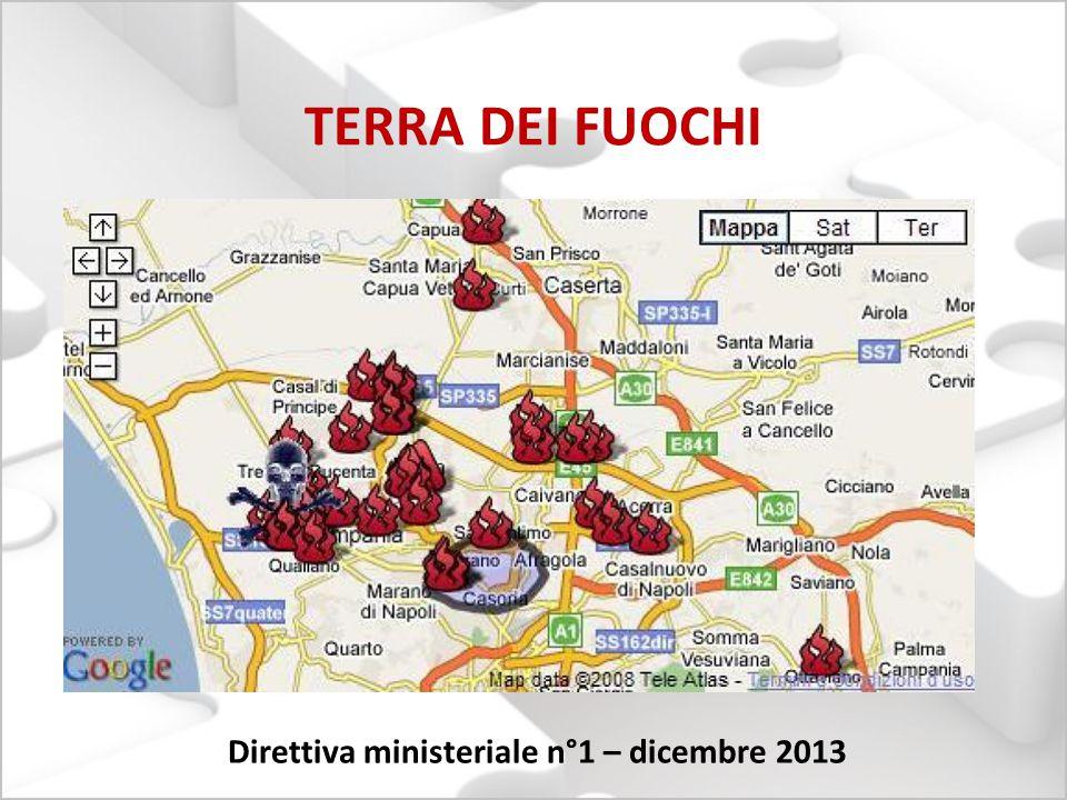 TERRA DEI FUOCHI Direttiva ministeriale n°1 – dicembre 2013
