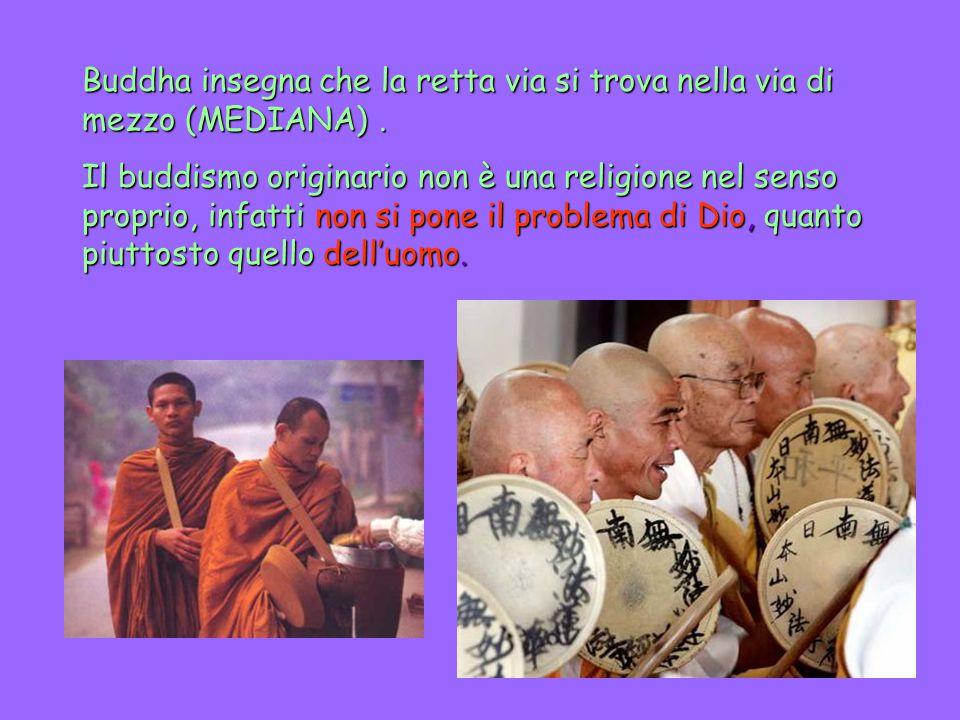 IL SIGNIFICATO DEL NOME Buddhismo proviene dallo spirito dell'induismo attraverso Siddhiartha denominato Buddha (Buddha = illuminato).