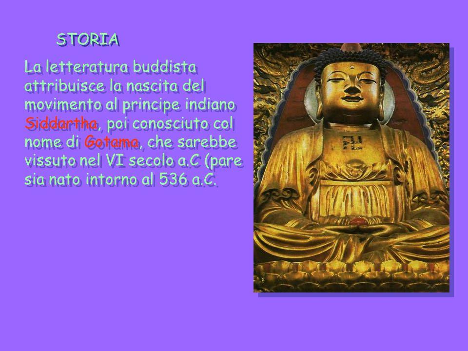 Vita di Buddha Siddartha era figlio del governatore di uno dei piccoli e bellicosi regni dell India del nord, tra il Gange e il Nepal.