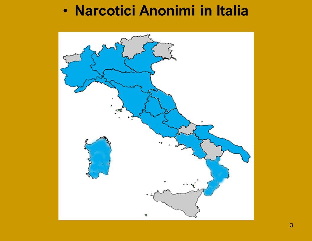 3 Narcotici Anonimi in Italia