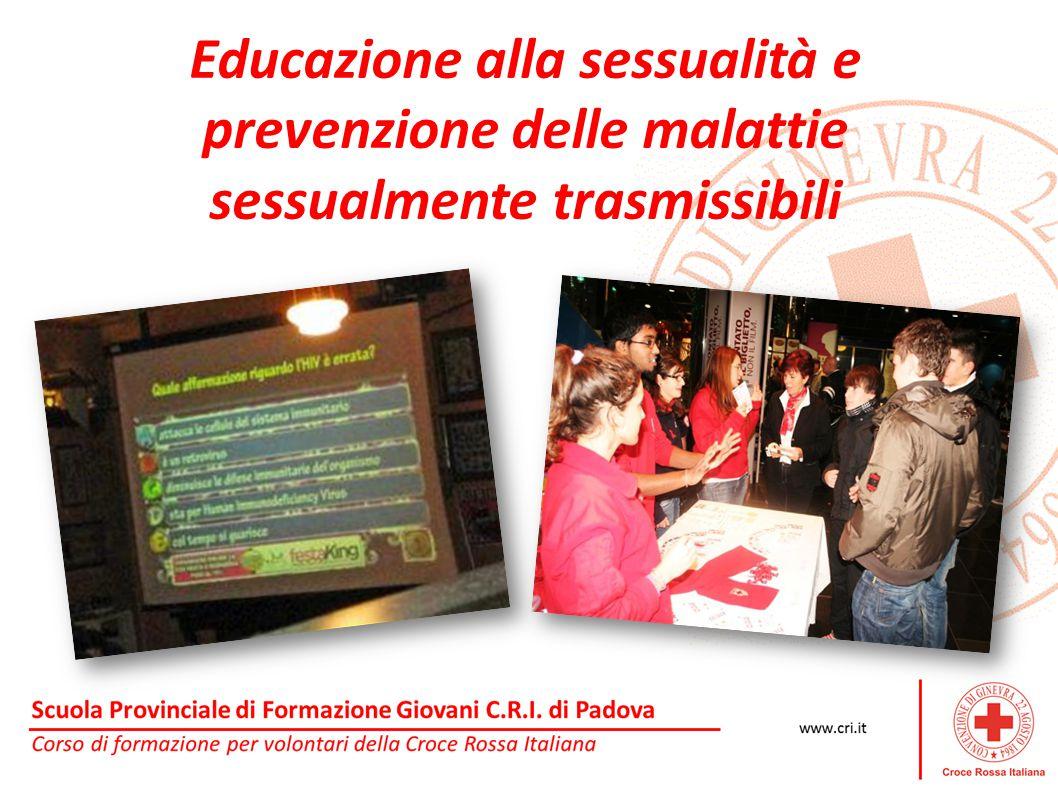 Educazione alla sessualità e prevenzione delle malattie sessualmente trasmissibili