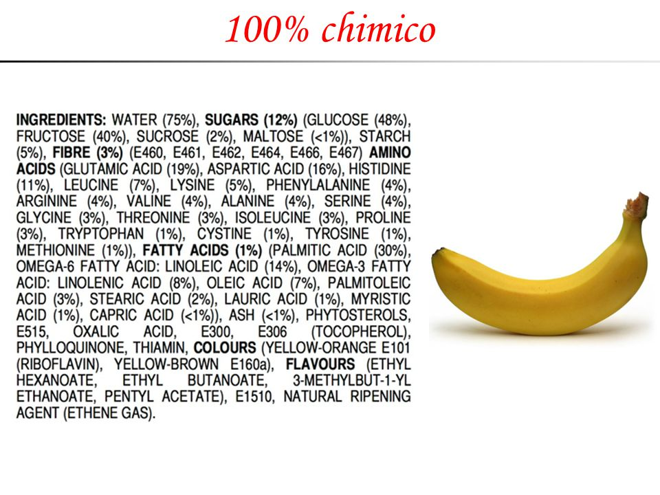 100% chimico