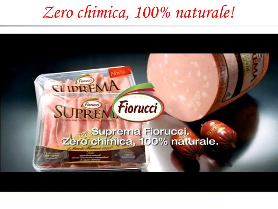 Zero chimica, 100% naturale!