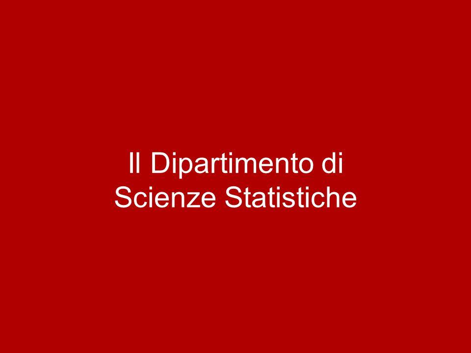Il Dipartimento di Scienze Statistiche