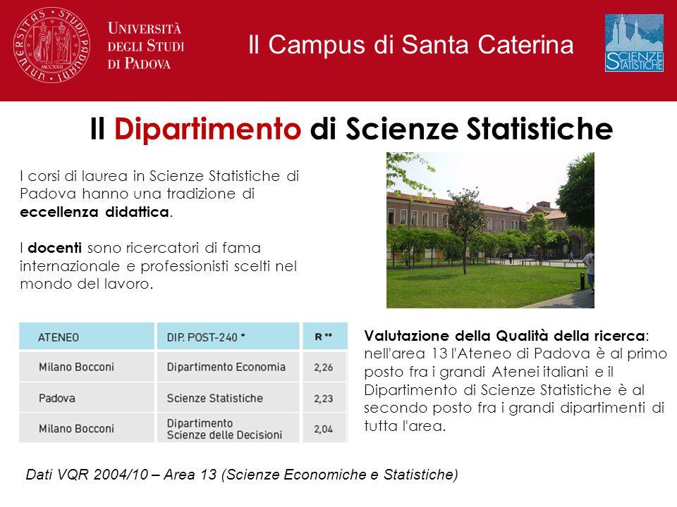 I corsi di laurea in Scienze Statistiche di Padova hanno una tradizione di eccellenza didattica. I docenti sono ricercatori di fama internazionale e p