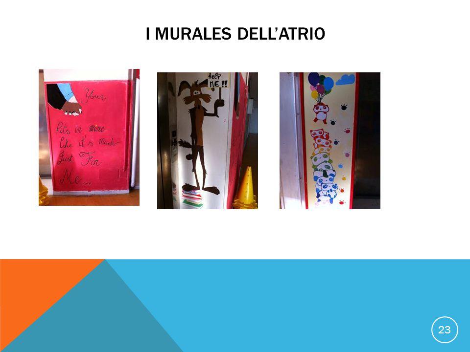 I MURALES DELL'ATRIO 23