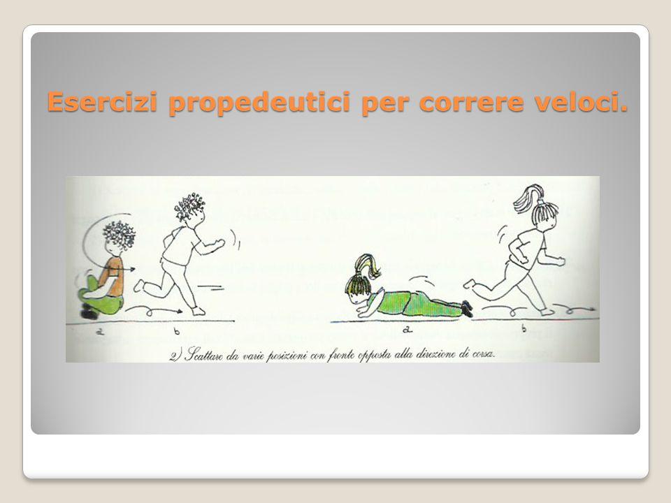 Esercizi propedeutici per correre veloci.