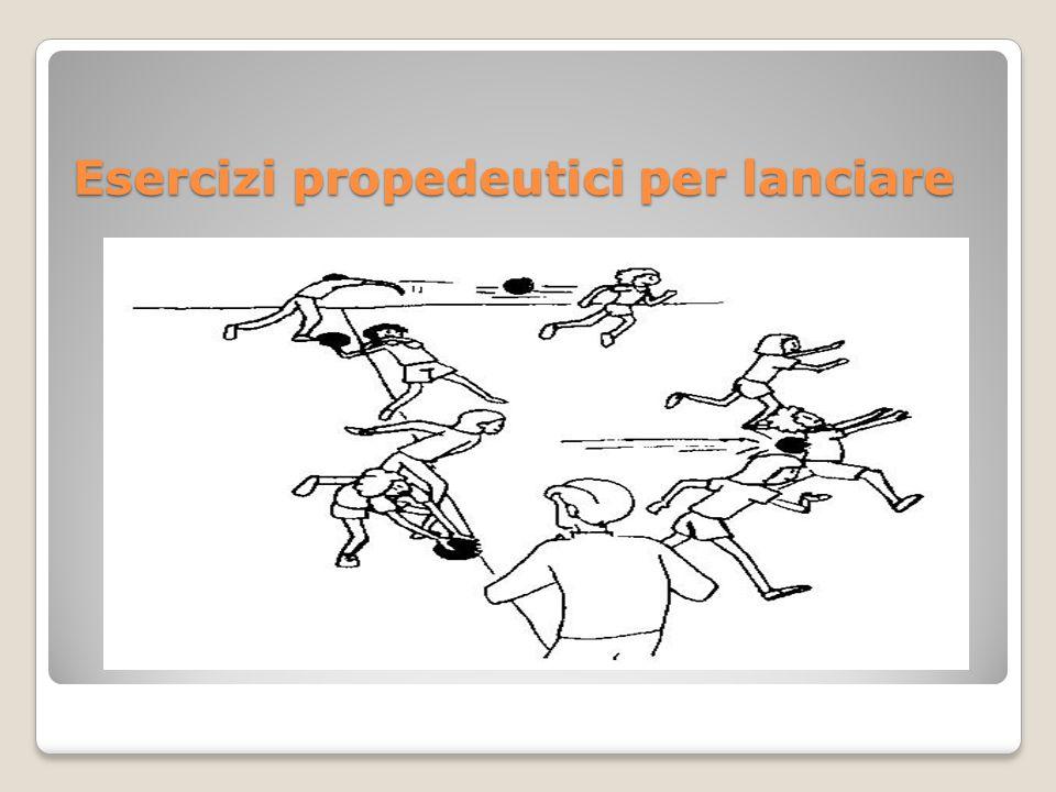 Esercizi propedeutici per lanciare