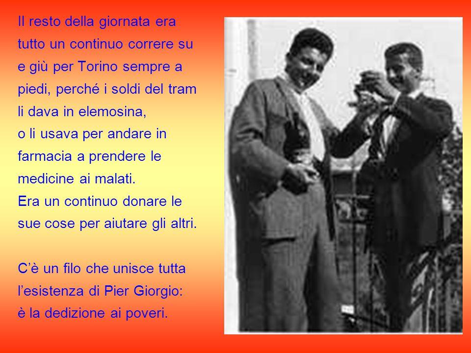 Le Lettere di San Paolo sono per lui la parola quotidiana da portare ai suoi ammalati, ai suoi poveri e ai barboni di Torino.