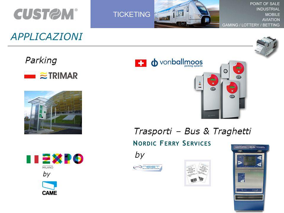 APPLICAZIONI Parking by Trasporti – Bus & Traghetti by