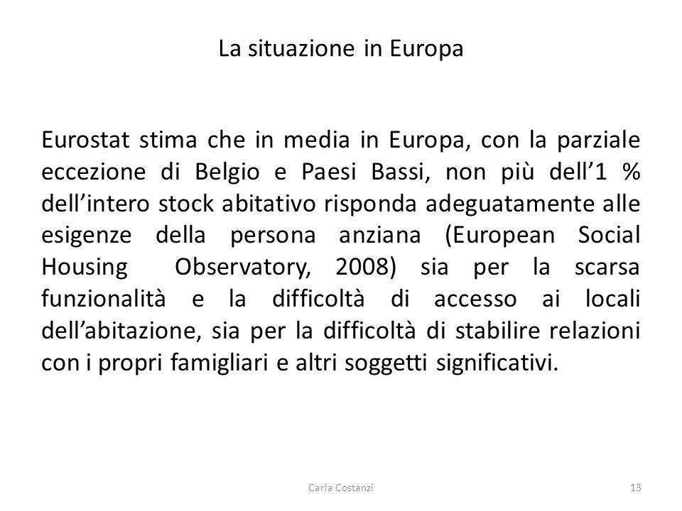 La situazione in Europa Eurostat stima che in media in Europa, con la parziale eccezione di Belgio e Paesi Bassi, non più dell'1 % dell'intero stock a