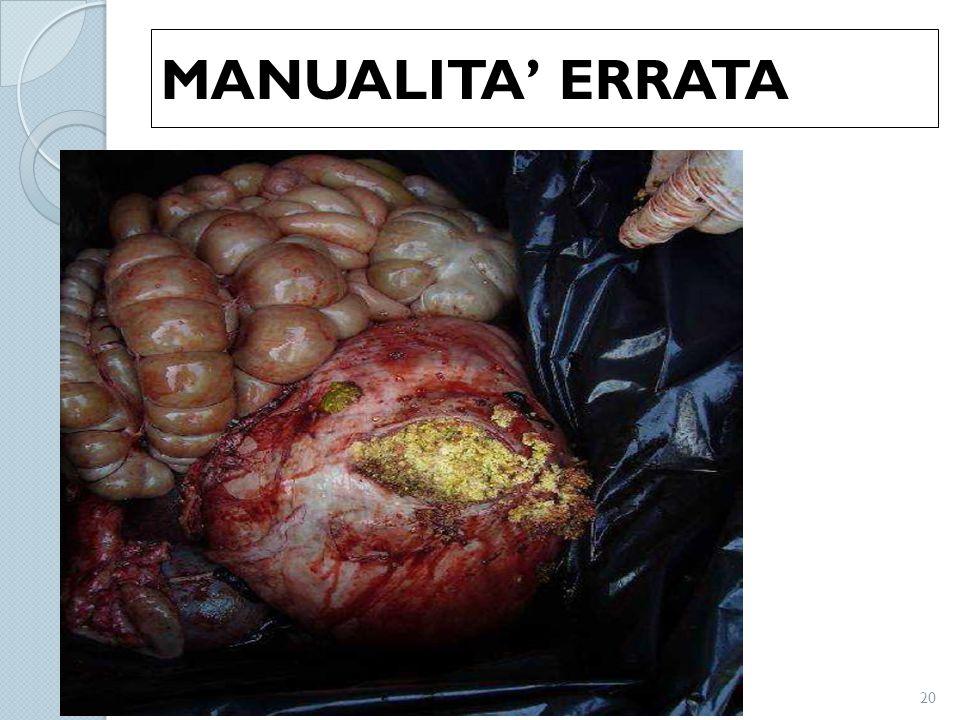 MANUALITA' ERRATA 20