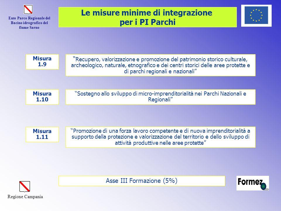 """Ente Parco Regionale del Bacino idrografico del fiume Sarno Regione Campania """" Recupero, valorizzazione e promozione del patrimonio storico culturale,"""