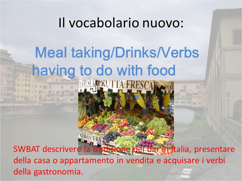  Le bevande e la frutta- abbinate!!.