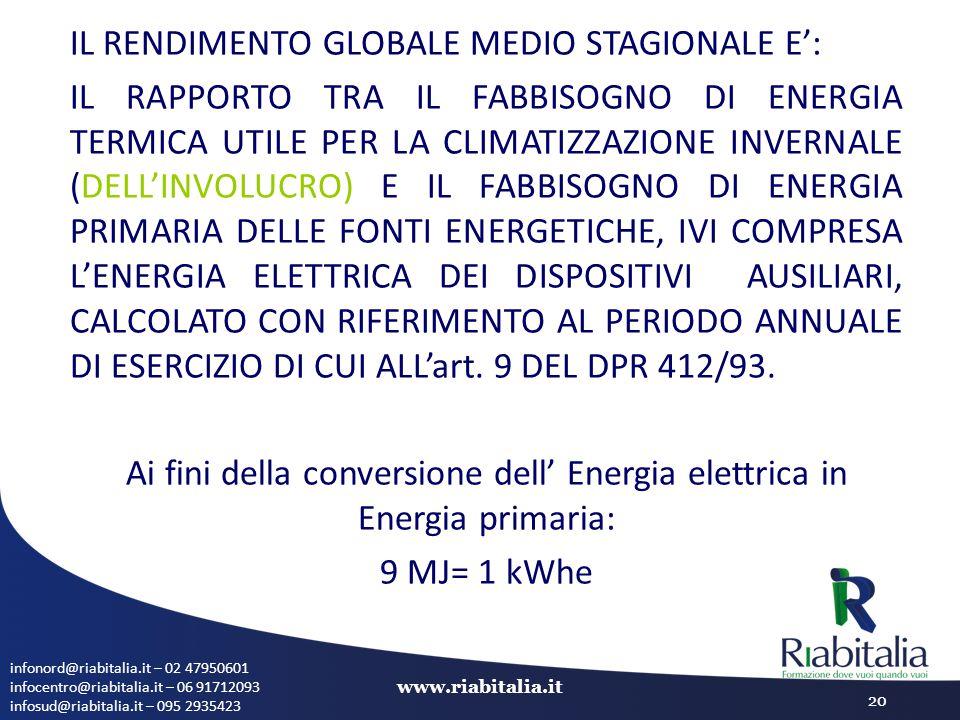 infonord@riabitalia.it – 02 47950601 infocentro@riabitalia.it – 06 91712093 infosud@riabitalia.it – 095 2935423 www.riabitalia.it 20 IL RENDIMENTO GLO