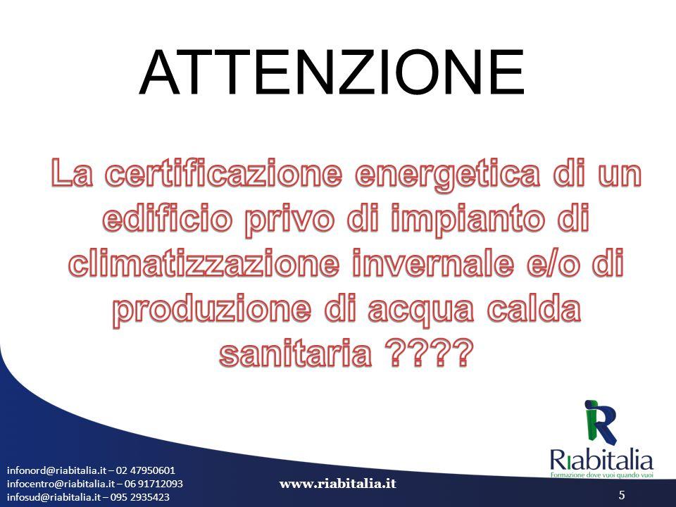 infonord@riabitalia.it – 02 47950601 infocentro@riabitalia.it – 06 91712093 infosud@riabitalia.it – 095 2935423 www.riabitalia.it 5 ATTENZIONE
